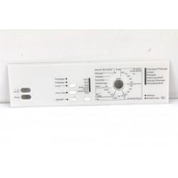 5539540 MIELE W862 N°188 Façade pour bandeau pour lave linge