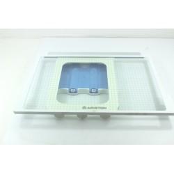 C00143491 ARISTON MTA351CFR n°25 Clayette verre glissière pour réfrigérateur
