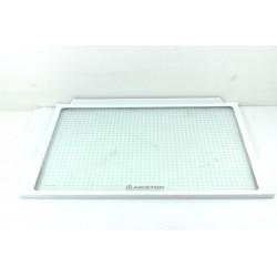 C00143491 ARISTON MTA351CFR n°24 Clayette verre glissière pour réfrigérateur