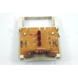 31X4944 VEDETTE LV1252 n°123 platine de visualisation pour lave vaisselle