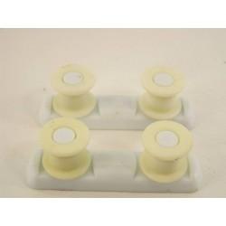 ARISTON LSE620 N°5 roulette support cuve supérieur pour lave vaisselle