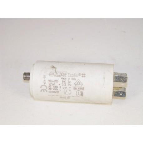 CANDY 12,5µF n°13 condensateur lave linge