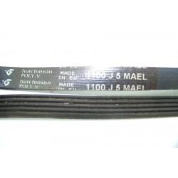 1100 J5 MAEL courroie HUTCHINSON pour lave linge