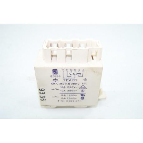3028071 MIELE N° 28 Relais 12V 16A pour lave linge