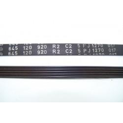 645120920 H4 5J 1270 courroie pour lave linge