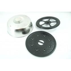 LG N°18 Cloche pour four micro-ondes vapeur Diamètre 17.4cm