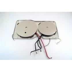 00749285 SIEMENS EH651FT17E/01 n°91 Foyer 38.5X20cm pour plaque induction