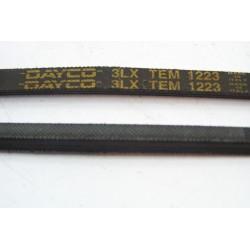 3LX TEM 1223 courroie DAYCO pour lave linge