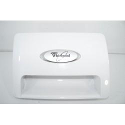 480111101382 WHIRLPOOL AWOE9749 N°221 Façade de boîte à produit pour lave linge