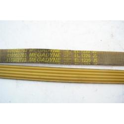416002700 EL 1220 J5 courroie MEGADYNE pour lave linge