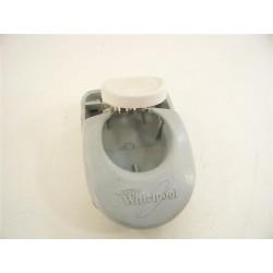 WHIRLPOOL LADEN  n°6  bouton de portillon pour lave linge