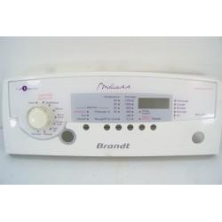 52X1457 BRANDT WTC1283F-D/D N°265 Bandeau pour lave linge