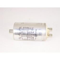FAURE 16µF n°23 condensateur lave linge