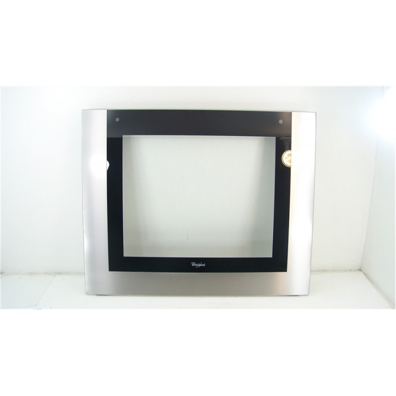 481010581655 whirlpool akzm786 ix n 76 vitre exterieur - Demontage porte four whirlpool ...