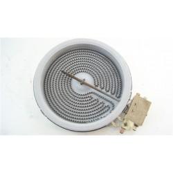 41014760 IBERNA PIVK460N n°7 foyer radiant 1200W D 16.5 cm pour plaque vitrocéramique