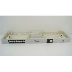480140101531 WHIRLPOOL ADG185 N°101 Bandeau pour lave vaisselle