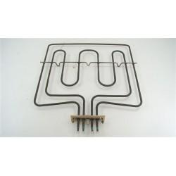 3570172019 ZANUSSI BMS641W n°92 Résistance grill 1000w / 1800w pour four