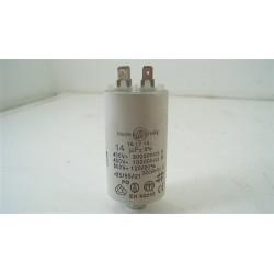 532000400 FAR L2502-1 n°47 Condensateur 14µF pour lave linge d'occasion