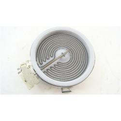 C00260941 ARISTON KRO642TOB n°110 foyer D165 1200W vitrocéramique pour plaque de cuisson