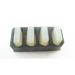 C00109855 ARISTON AVTL108FR n°76 Bouton silicone pour lave linge