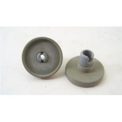 TEKA DW745 n°35 roulette de panier inférieur pour lave vaisselle