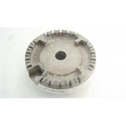 42808761 CANDY CCG5540PW1 n°34 Couronne de brûleur semi rapide 6.5 cm pour four et cuisinière d'occasion