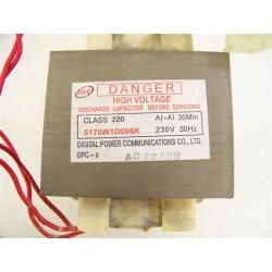n°3 transformateur 6170W1D098K pour four micro-ondes