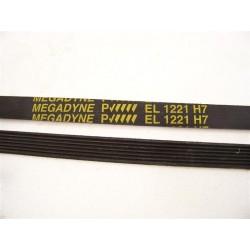 EL 1221 H7 courroie megadyne pour lave linge