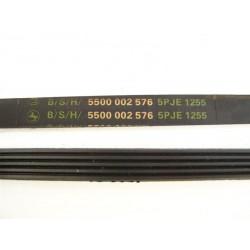 5 PJE 1255 B/S/H courroie pour lave linge