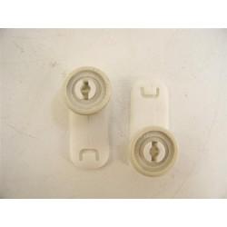 3176420 MIELE n°1 Roulettes de rail pour panier supérieur de lave vaisselle
