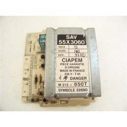 55X3060 BRANDT THOMSON n°56 module de puissance lave linge