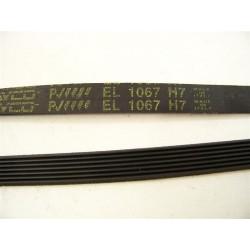 C00055310 1067 H7 courroie DAYCO pour lave linge