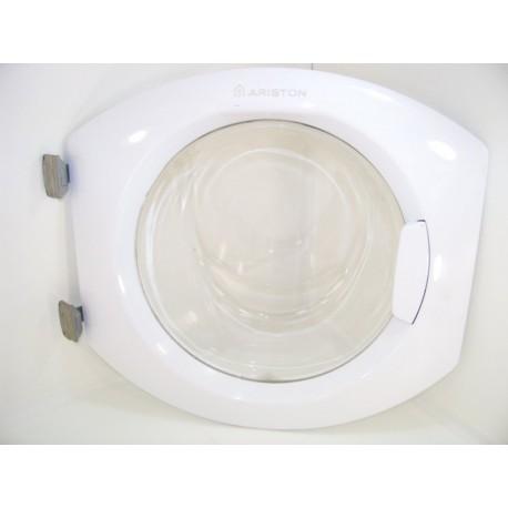 C00097374 ARISTON AVL135 n°9 hublot complet pour lave linge