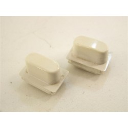 3179320 MIELE n°5 Bouton pression blanc pour lave linge