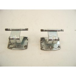 C00254619 ARISTON INDESIT n°50 Charnière de hublot pour lave linge d'occasion