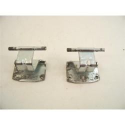 C00254619 ARISTON INDESIT n°50 Charnière de porte lave linge