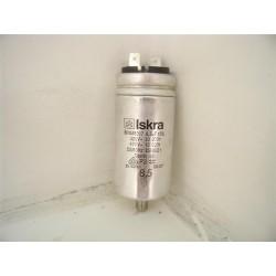 C00258619 INDESIT ARISTON N°28 condensateur 8.5µF pour sèche linge
