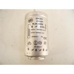1250020326 AEG ARTHUR MARTIN n°30 condensateur 8µF pour sèche linge