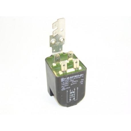 91212795 CANDY CNL125 0,47µF 16A n°9 Antiparasite pour lave linge
