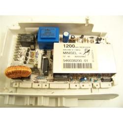 546038200 FIRSTLINE FL1202CVAE n°33 module de puissance pour lave linge