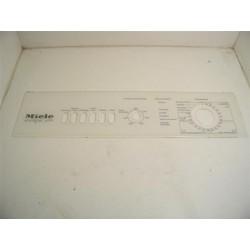 MIELE W799 n°60 façade de bandeau pour lave linge