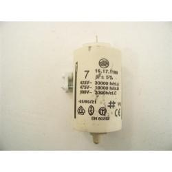 C00096391 INDESIT ARISTON n°43 condensateur 7µFsèche linge