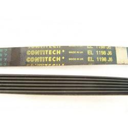 C00119126 EL 1198 J6 courroie CONTITECH pour lave linge