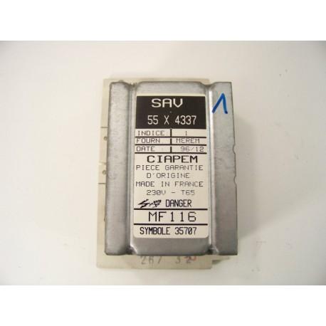 VEDETTE EG 6001 n°1 module de puissance pour lave linge
