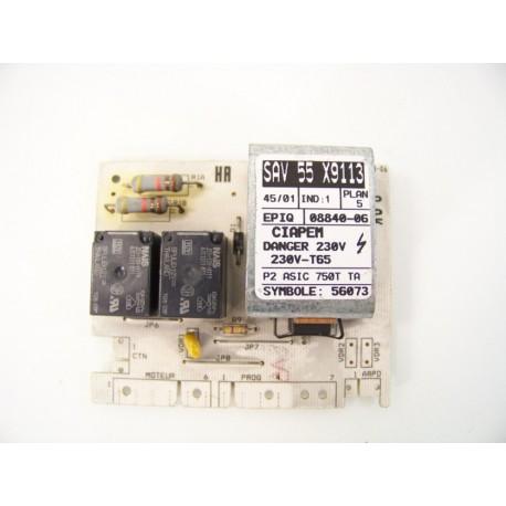 BRANDT WTM0913F n°18 module de puissance pour lave linge