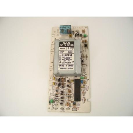 BRANDT WTM1031F n°22 module de puissance pour lave linge