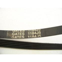 GATES 1184 J5 courroie pour lave linge
