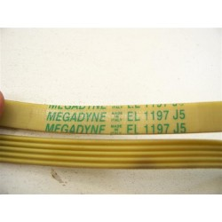 EL 1197 J5 courroie megadyne pour lave linge