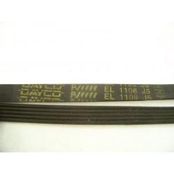 C00052872 courroie DAYCO EL 1108 J5 pour lave linge