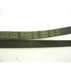 EL 1263 H8 courroie DAYCO pour lave linge